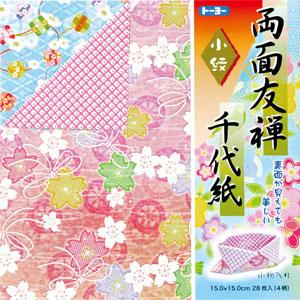 両面友禅千代紙(15.0)小紋