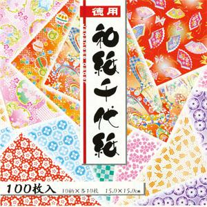 徳用 和紙千代紙 (7.5・15.0)