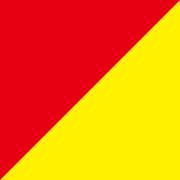 単色両面おりがみ 赤/黄