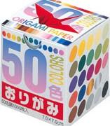 50色千羽鶴折り紙(7.0)