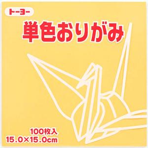 単色おりがみ(ベージュ)109