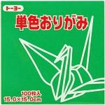 単色おりがみ(みどり)116