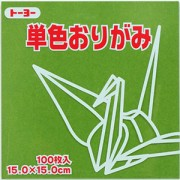単色おりがみ(オリーブ)15.0