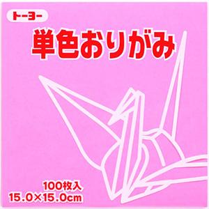 単色おりがみ(ピンク)124