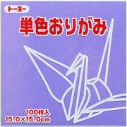 単色おりがみ(ふじ)15.0