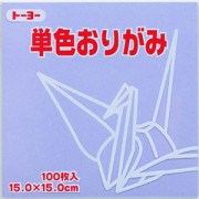 単色おりがみ(うすふじ)15.0