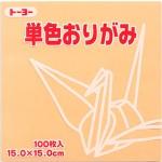 単色おりがみ(ペールオレンジ)144