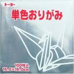 単色おりがみ(ぎん)160