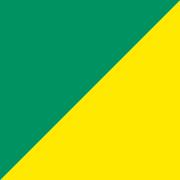 単色両面おりがみ 緑/黄