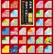 和紙風 両面千代紙づくし(15.0)