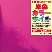 単色カラーホイル(ピンク)